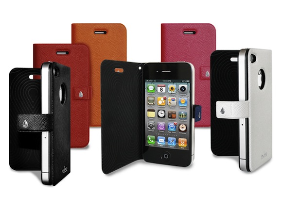booklet+iphone Funda Booklet Slim para iPhone 4/4s