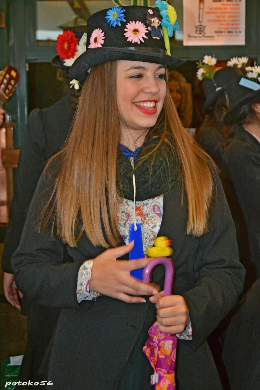 mary poppins carnaval de Rota