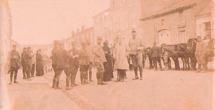 Robert-Espagne pendant la guerre 1914-1918