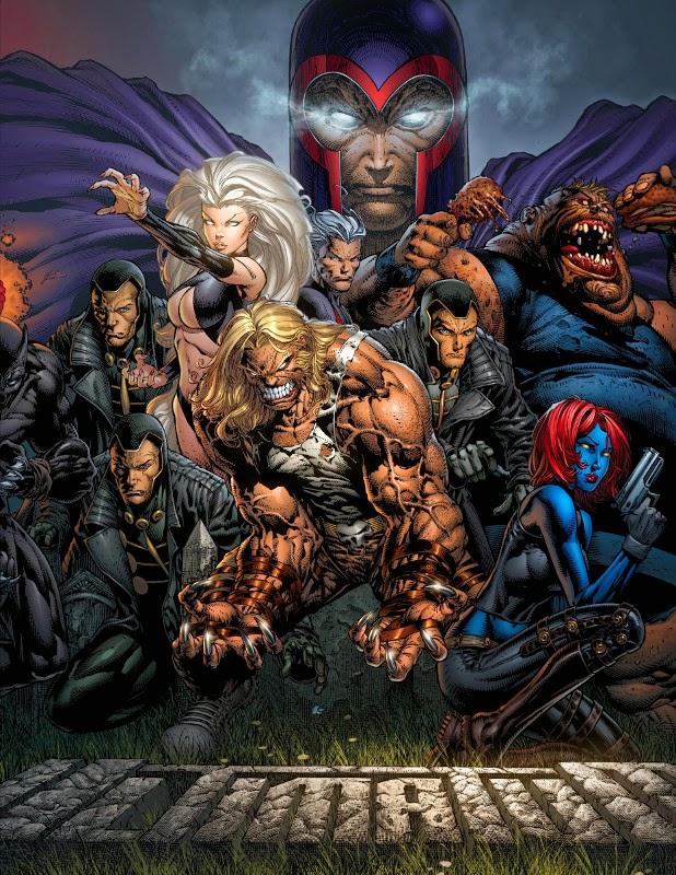 Magneto and the brotherhood of evil mutants