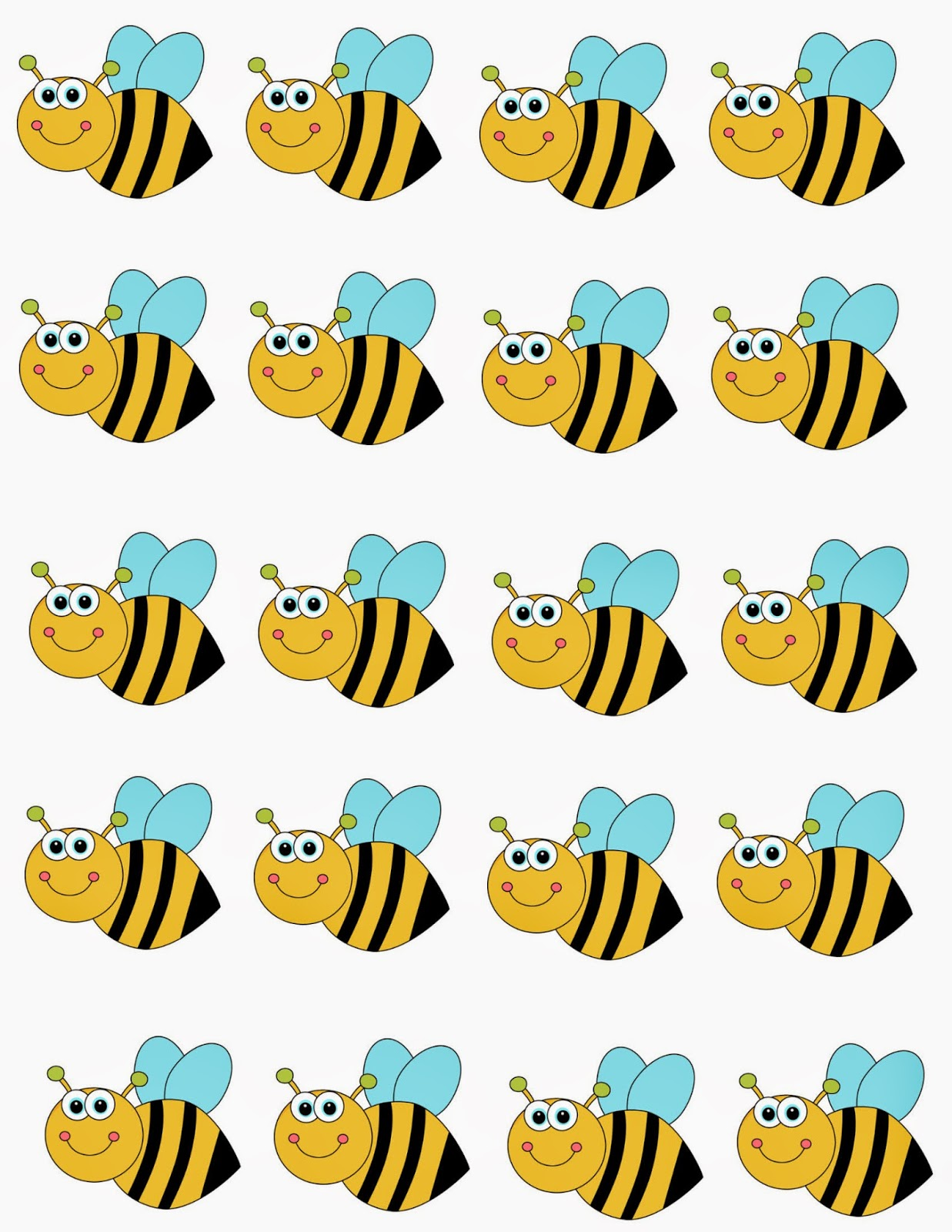 Trust image for bee printable