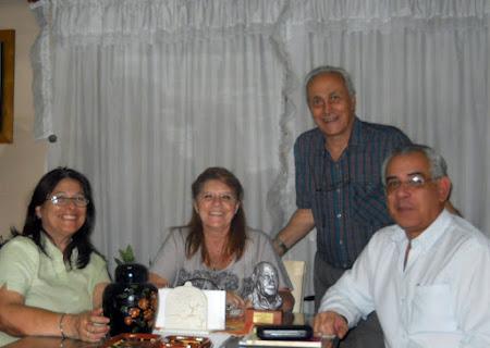 Susana, Cristina, Carlos y Norberto