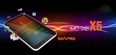 IMO Tab X5 Mars, Tablet Android 7 Inci Murah - IDhandphone.com