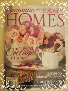 Featured in Romantic Homes Magazine March 2013