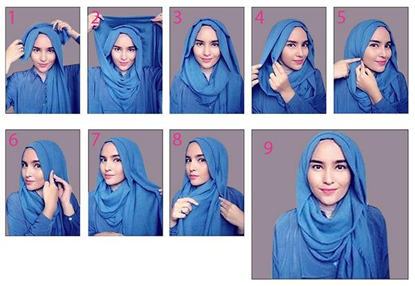 18 cara pakai tudung shawl dari zolace sharing my ceritera