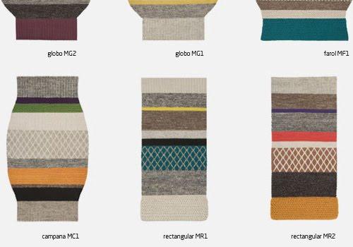 Mangas a Patricia Urquiola carpet for GAN Rug