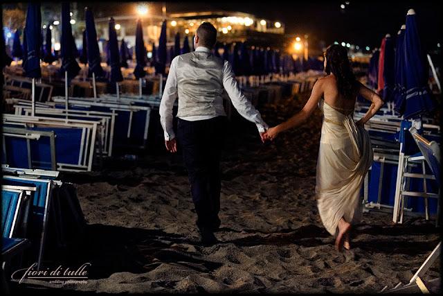 foto matrimonio Cà du Mà spiaggia Celle Ligure