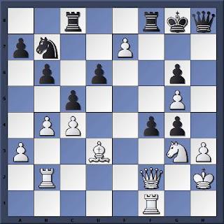 Echecs à Caen : la position après 29.e7??