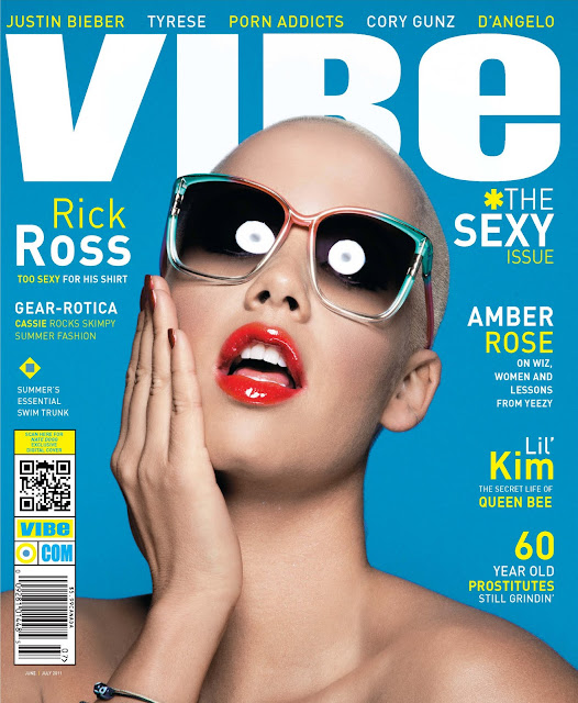 "Amber Rose Covers VIBE's ""Sexy Issue"" + Talks Kanye, Reggie Bush And More!"