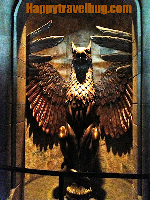 The Phoenix at Harry Potter World
