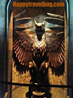 The Phoenix at Harry Potter World
