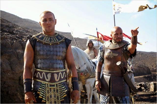"""Joel Edgerton en """"Exodus: Dioses y Reyes"""""""