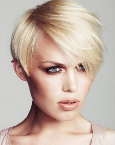 HAIR TREND: Short Haircuts for Round Face 2012 Ashlee Simpson Pieces