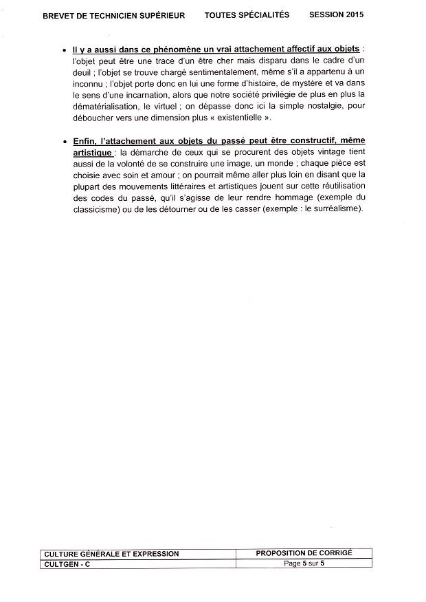 Culture générale brevet