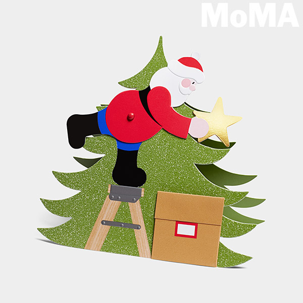 MoMA(モマ) 立体クリスマスカード