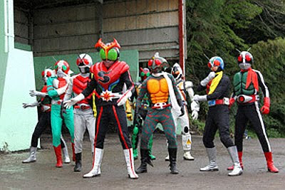 Kamen Rider Movie Wars MEGAMAX Summaries