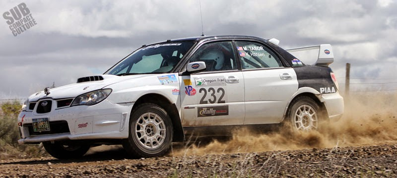 WRX STI at Oregon Trail Rally