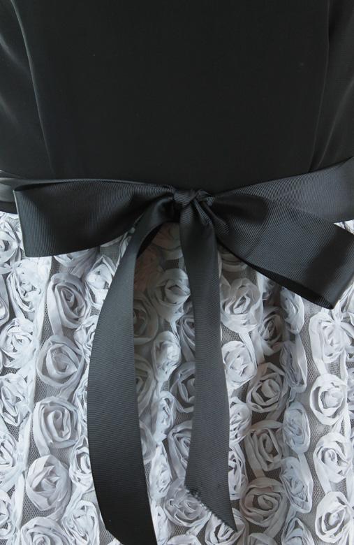 Rosette Dream Dress – Black
