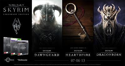 Bethesda Announces The Elder Scrolls V: Skyrim Legendary Edition