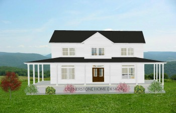 THE MAGNOLIA FARMHOUSE PLAN