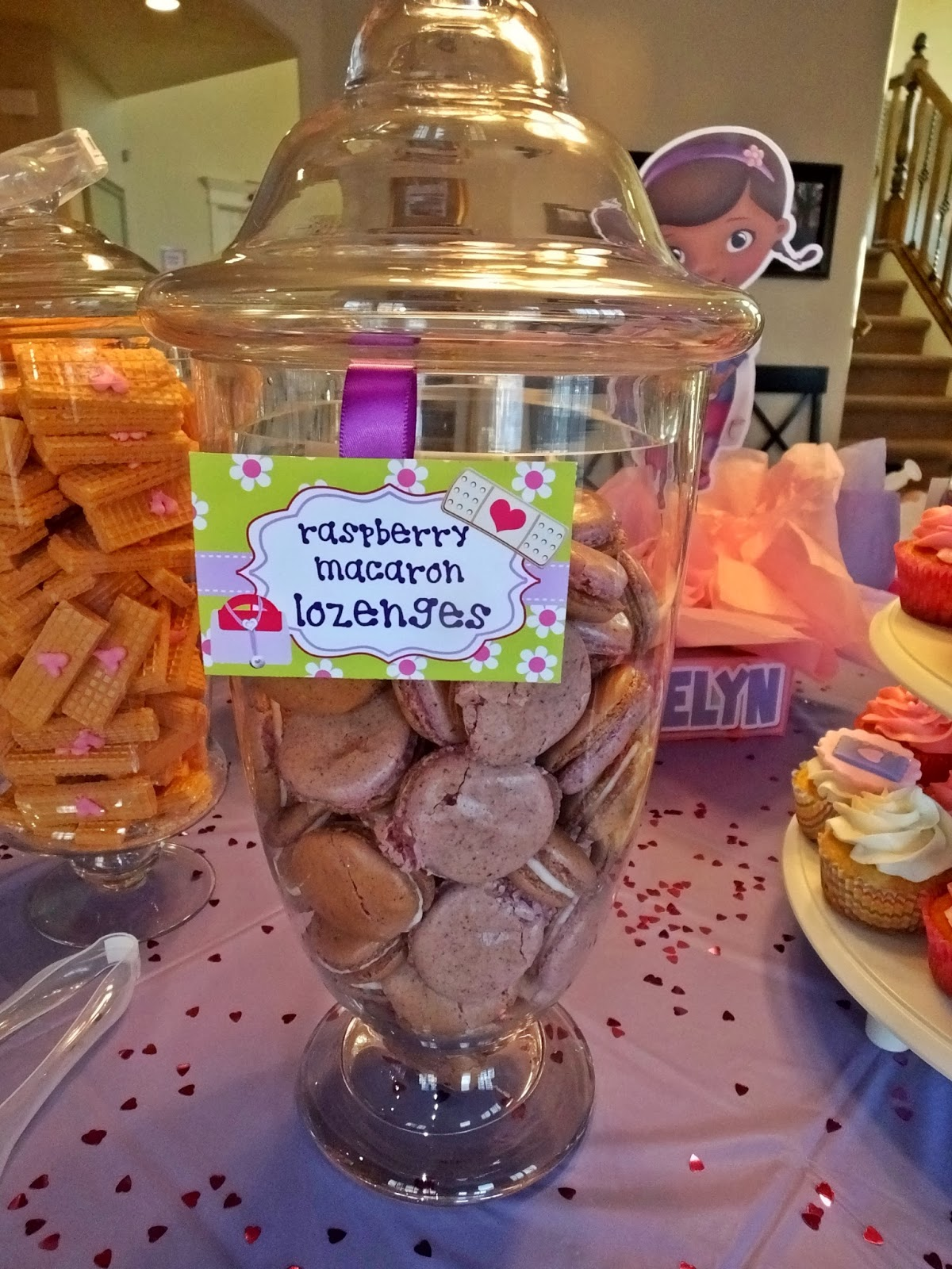 padicakes doc mcstuffins birthday party