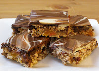 Marbled Energy Bars