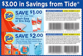 $3. Tide Coupons by Mail