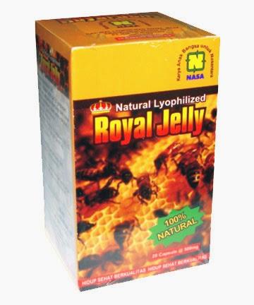"""""""obat-herbal-royal-jelly-nasa-natural-nusantara-madu-penyakit-kolesterol-darah-tinggi-hipertensi-jantung-liver-stamina-vitalitas-seksual-penuaan-berat-badan-asma-menopause-produk-kesehatan-herbal-alami"""""""
