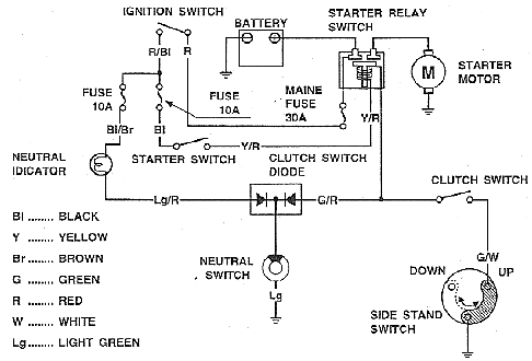 honda gl1100 wiring diagram honda wiring diagrams