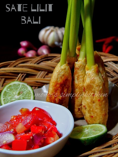 resep sate lilit ayam khas bali