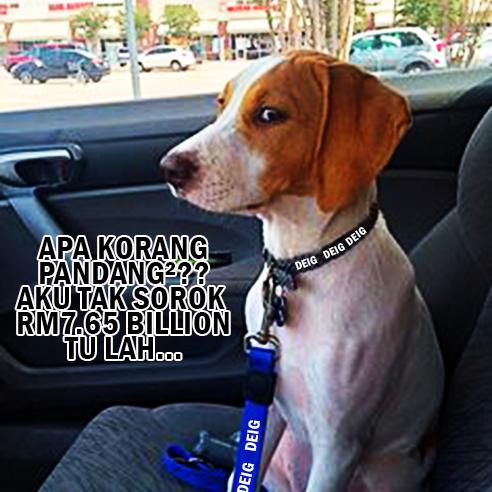 Anjing Pembangkang Diam Isu Wang Rakyat dan Kerajaan Negeri Selangor
