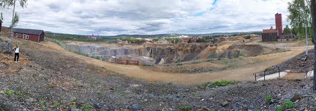 Falu Gruva / Mines in Falun, Sweden