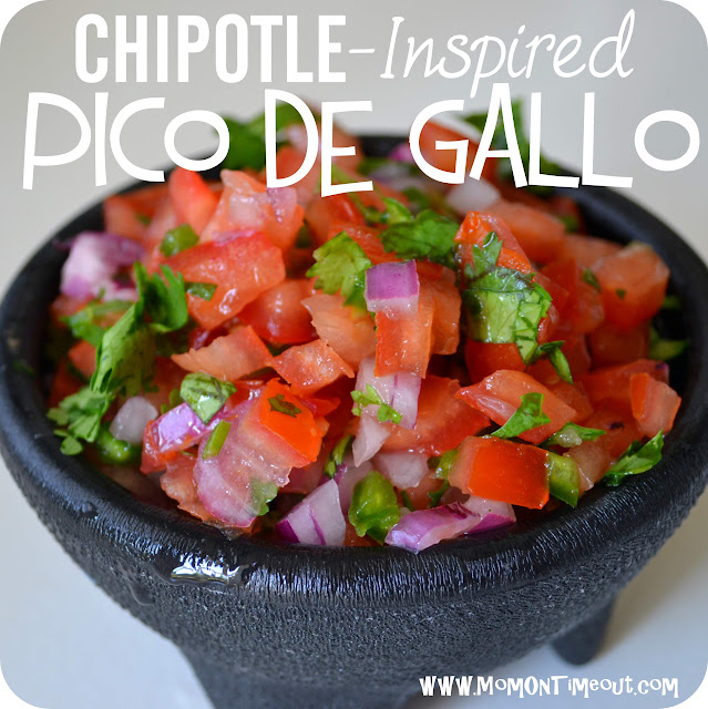 chipotle inspired salsa