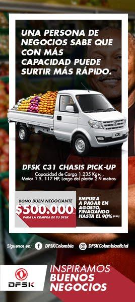 DFSK C31 CHASIS PICKUP