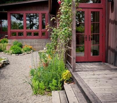 Fotos de terrazas terrazas y jardines fotos terrazas de for Jardines de casas rusticas