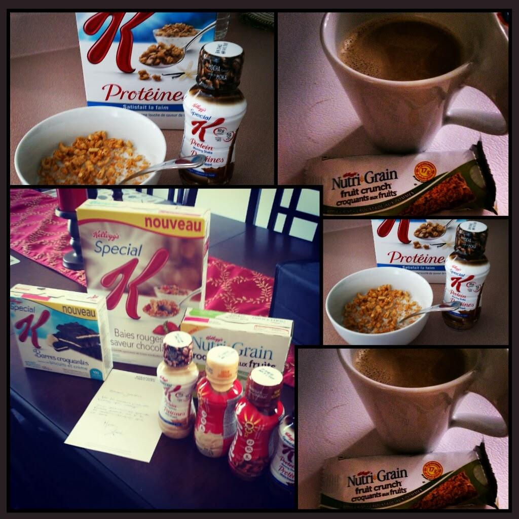 NOUVEAUX produits de #KelloggCanada dont vous raffolerez