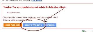 Cara Menghilangkan Tulisan Powered By Blogger