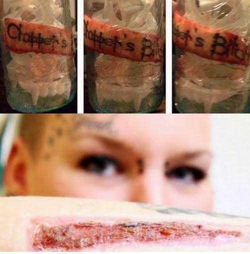 Após descobrir traição ela cortou a tatuagem e enviou pelo correio para o ex