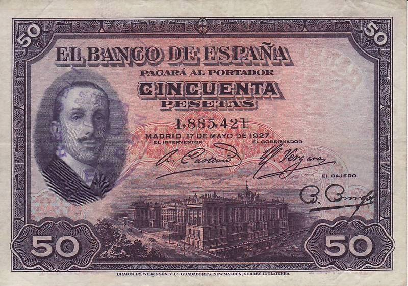Spain We Combine Circulated 6 Different Pre-Franco banknotes 1925-1935