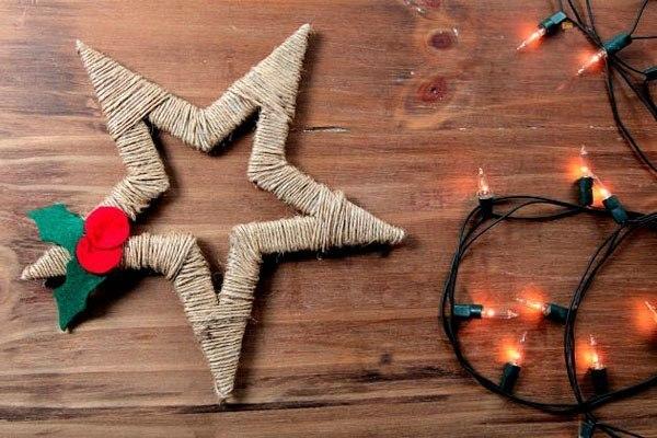 Manualidades navide as estrella de navidad for Navidad adornos manualidades navidenas