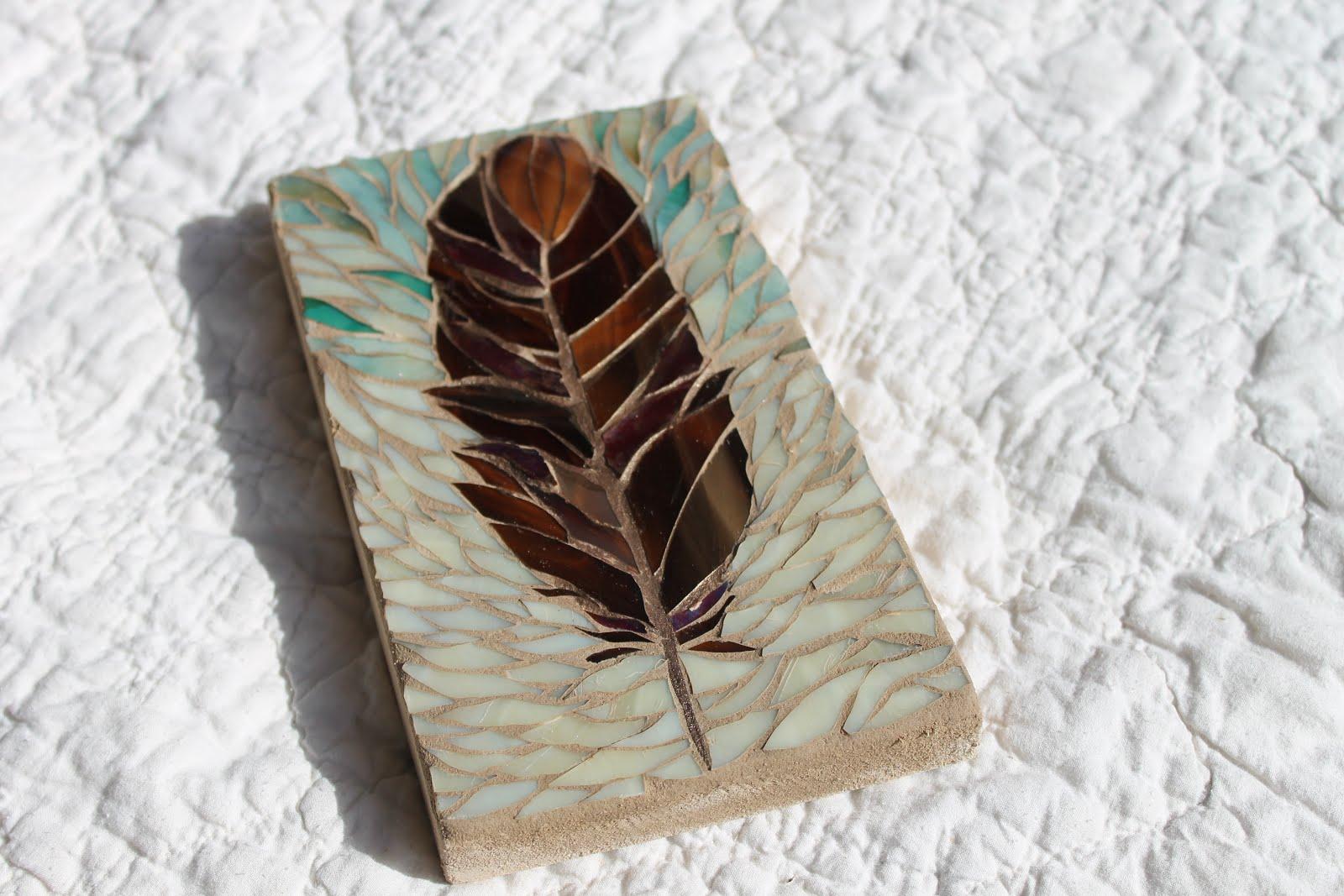 Mosaic Study: Feather