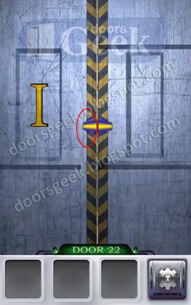 100 doors 3 level 22 solution doors geek for 100 doors door 22