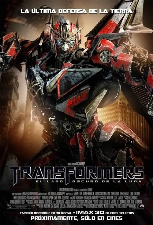 transformers dark of the moon sentinel prime poster. Posters