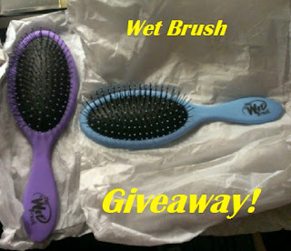 wet brush giveaway