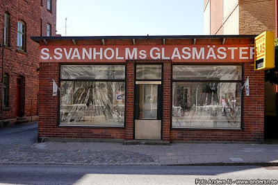 S Svanholms glasmästeri, Landskrona