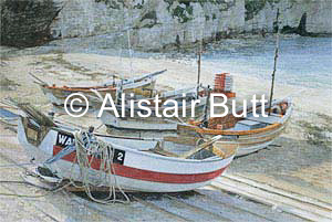 Alistair butt rsma landscape and marine painting blog for Head boat fishing near me
