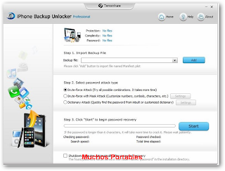 Tenorshare iPhone Backup Unlocker Professional Portable