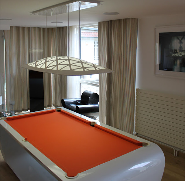 Black Light Billiard Tables By Toulet. Tons Of Colors And