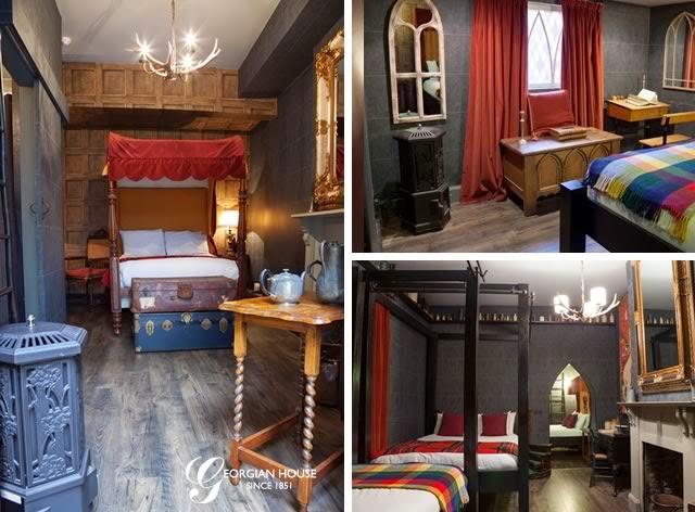 El hotel de Harry Potter llega a Londres. Un hotel de Londres crea habitaciones inspiradas en 'Harry Potter'. MÁS CINE. Making Of. Noticias