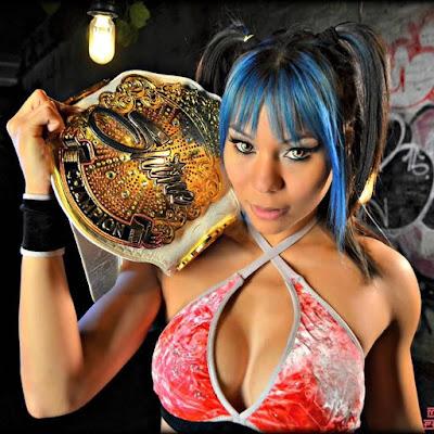 Mia Yim aka TNA Knockout Jade